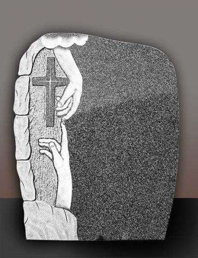 64 - Паметници от гранит - Севлиево - Траурна агенция Алфа Омега, град Севлиево
